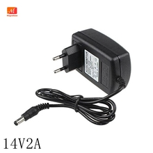14V 2A Universele Ac 100V 240V Dc Adapter Voeding 14V 1.5A 2A 28W transformator Travel Power Adapter Muur Changer 5.5*2.5 Mm