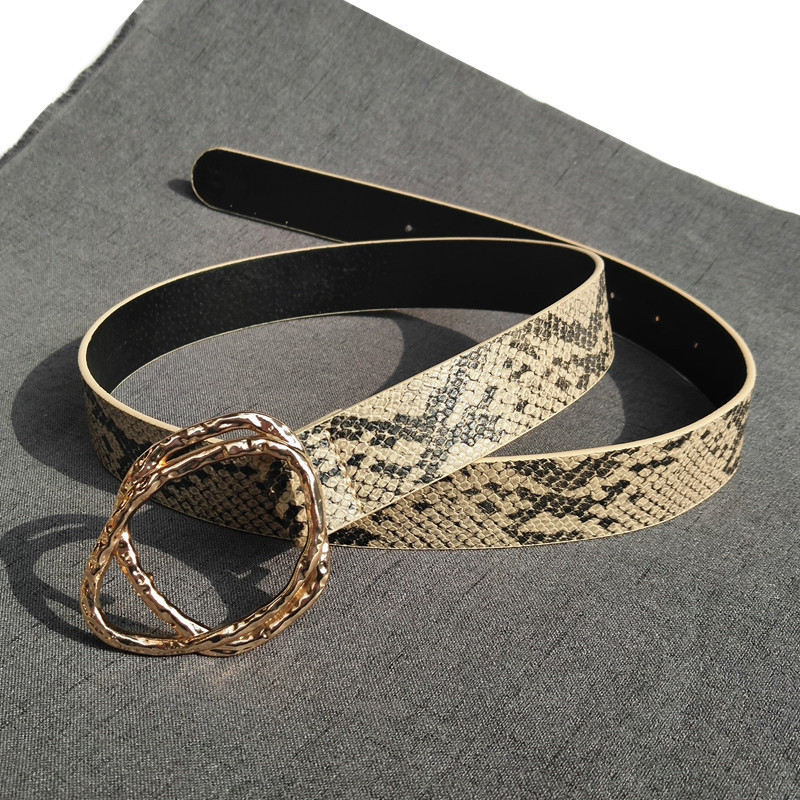 Miwens Za 2019 New Style Metal Snake Skin Belts Fashion Long Belts Women Wholesale Handmade Factory Jewelry Dropshipping NN03