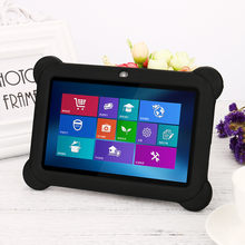 Caso polegada 7 universal Anti-Gel de Silicone Caso Capa Protetora Voltar Parágrafo 7 sujeiras polegada Tablet PC Q88 c0527
