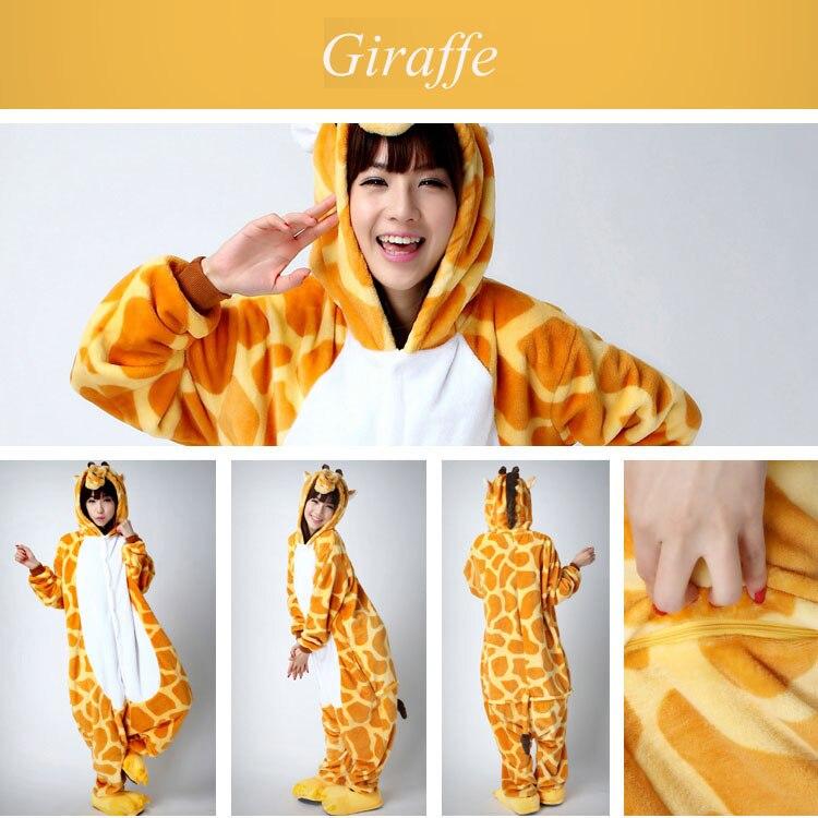 Giraffe adult onesie pajamas