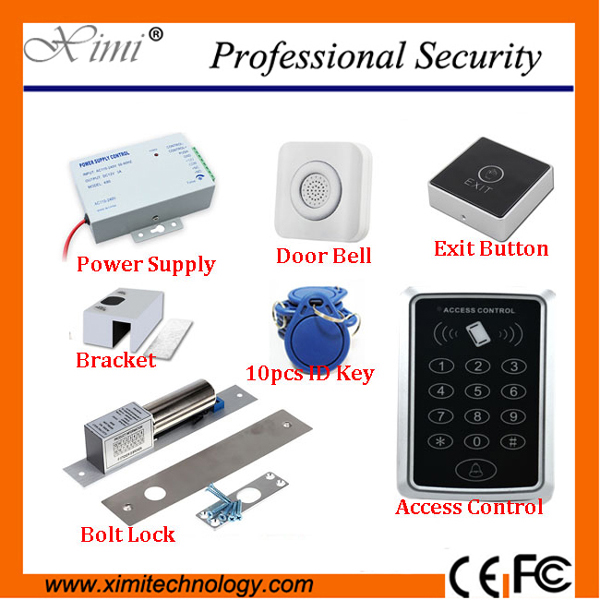 High quality cheap door access controller without software 125KHZ RFID card smart card access control system with door lock t art блузка