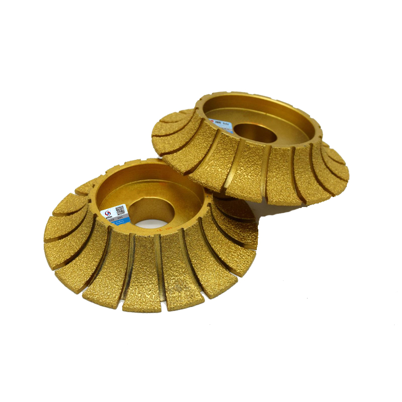 RIJILEI Mole diamantate per brasatura 140mm * 30mm per smerigliatrici - Utensili elettrici - Fotografia 2