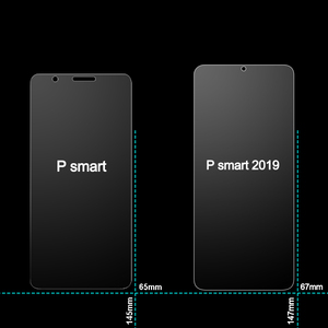 Image 3 - 2Pcs Glass for Huawei P Smart 2019 Glass Screen Protector 2.5D on Phone Protective Safety Tempered Glass for Huawei P Smart