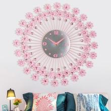 44cm Creative brief Europe wall clocks Bedroom Modern digital watches home decor metal decorations living room