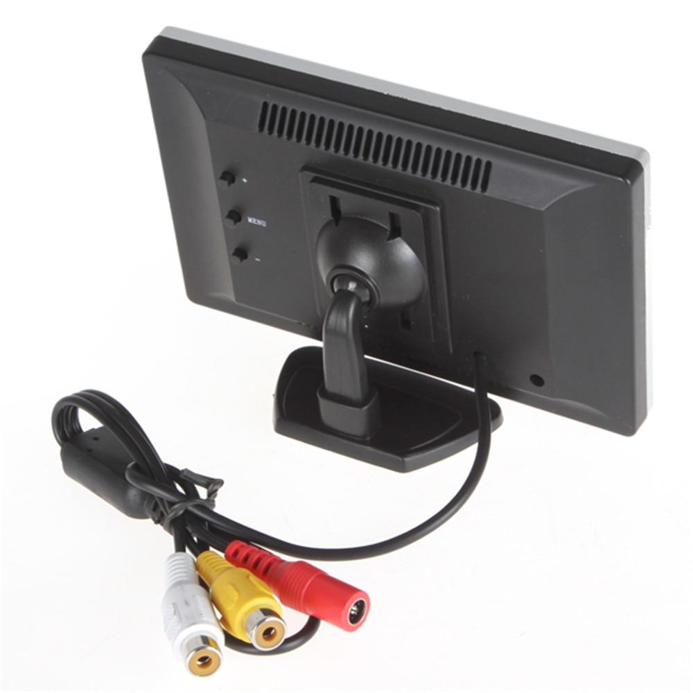 5 դյույմ TFT LCD գույնի մեքենայի հետևի - Ավտոմեքենաների էլեկտրոնիկա - Լուսանկար 4