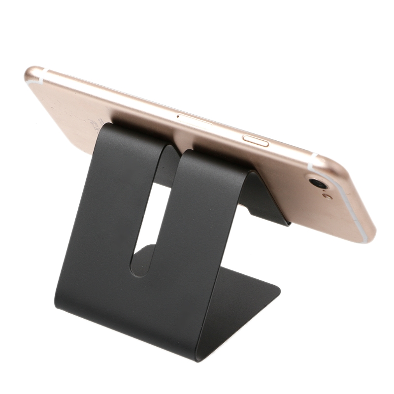 Universal Metal Phone Holder Stand Desk Mount for iPhone iPad Samsung Tablet PC *dls*