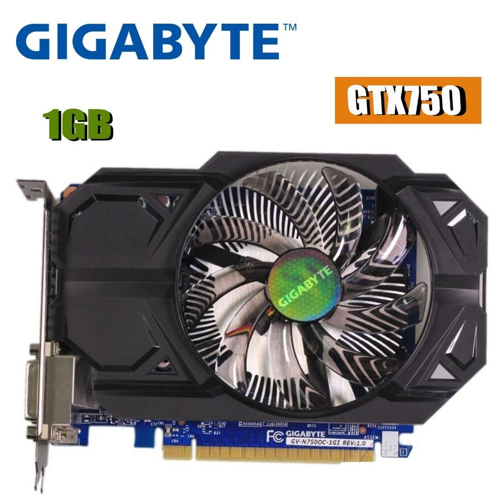 Graphics Card GTX750TI 2GB GDDR5 192bit VGA DVI HDMI w// Fan For NVIDIA GeForce