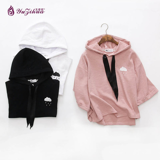 Pink Kawaii Hoodie Cute Sweat Femme Hoodies Women Tracksuit Sweatshirt  Sudadera Mujer Poleron Mujer Felpe Donna Moletons Truien 5ed9208a7cc2f