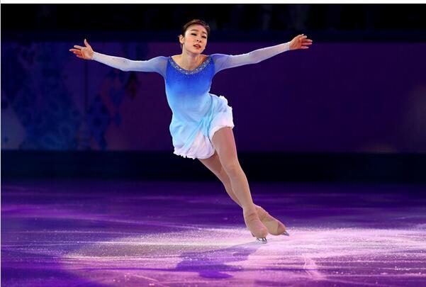 pattinaggio di figura blu vestiti concorrenza ragazze pattinaggio su - Abbigliamento sportivo e accessori