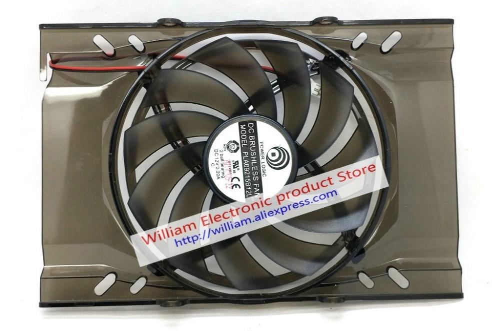 New Original for MSI UNIKA GTX650ti HD5750 5770 6750 9800GT GTS250 /450 Graphics card cooling fan PLA09215B12L 12V 0.20A