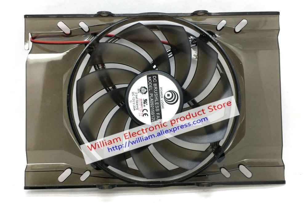 New Original for MSI UNIKA <font><b>GTX650ti</b></font> HD5750 5770 6750 9800GT GTS250 /450 Graphics card cooling fan PLA09215B12L 12V 0.20A image