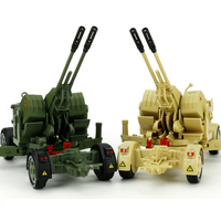 Children Alloy Toy Antiaircraft Model Kids Toys Tank Military Air defense Missile Launcher Diecast Vehicle Scale 1:35 Gifts