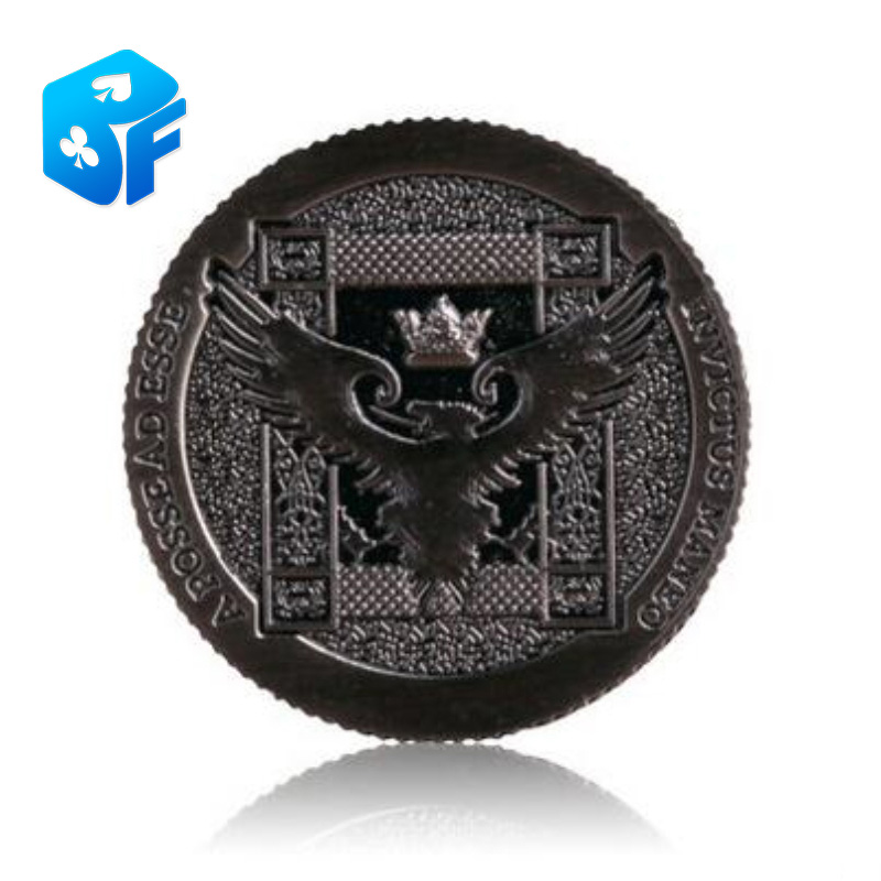 Ellusionist Artifact Coin - Rev 2 -one Dollar Size -silver - Magic Tricks