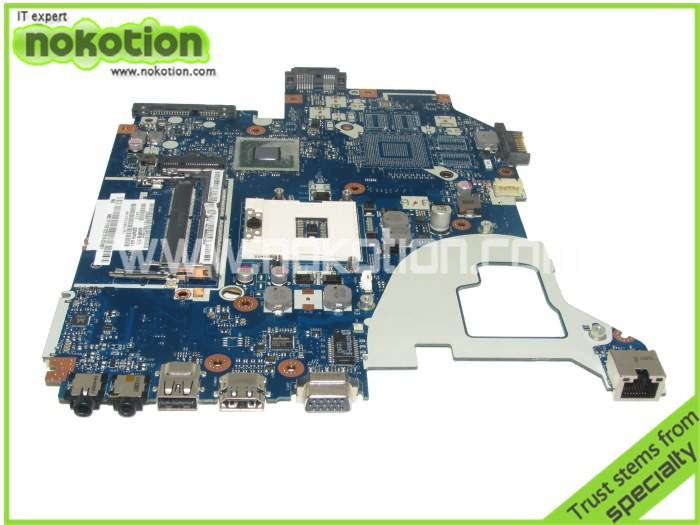 NOKOTION Mainboard NBC1F11001 LA-7912P full tested laptop motherboard for ACER AS V3-571 free shipping laptop motherboard for toshiba a205 a200 v000108040 integrated ddr2 mainboard full tested free shipping