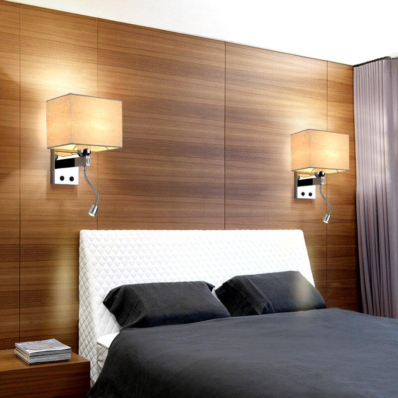 Wandleuchte Bett nachtwandleuchte len mit schalter led leseleuchte wandleuchte