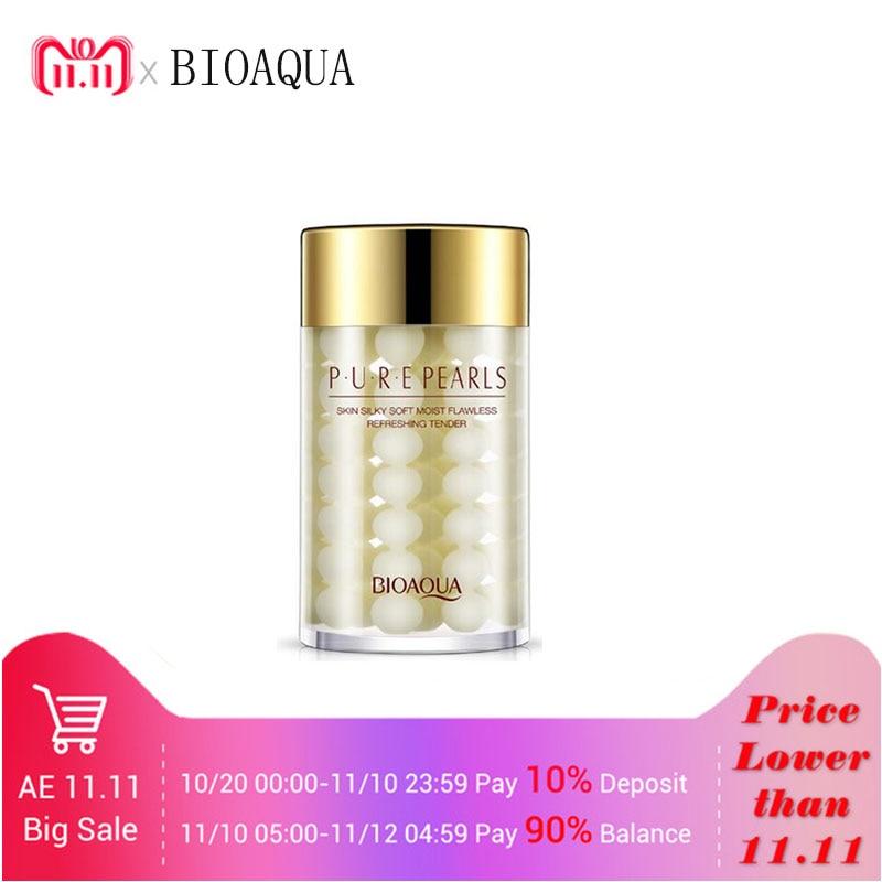 BIOAQUA Pure Pearl Sleeping Mask Cream Moisturizing SkinCare Hydrating Facial Night Mask Whitening Anti Wrinkle Face Mask Beauty цены