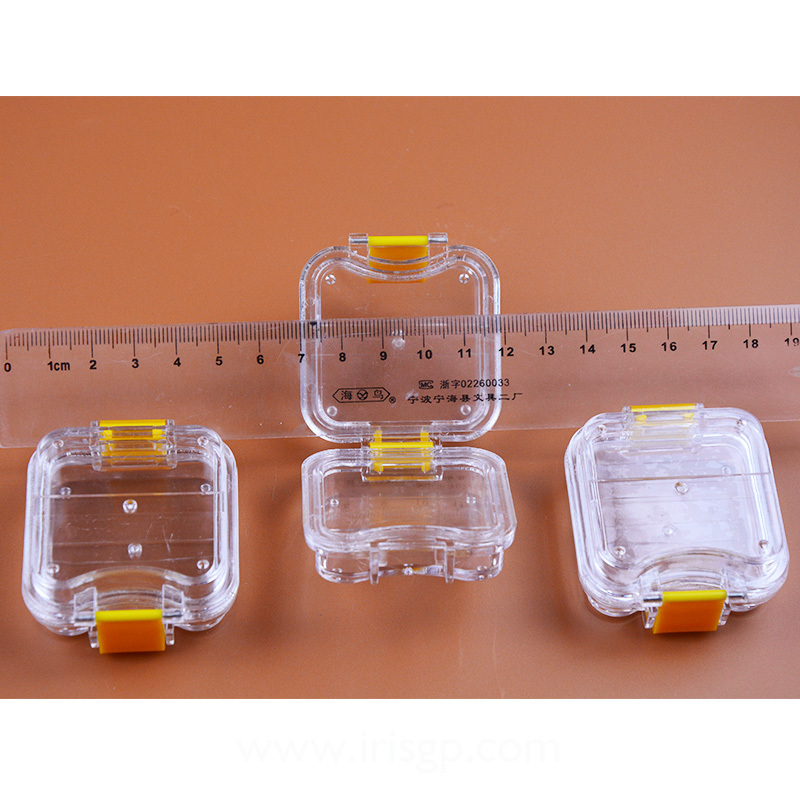 200 Pieces Packed Membrane Tooth Box Dental Storage Box Dental Teeth Box with Translucent Film 5