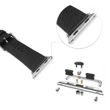 Stainless Steel 38mm 42mm Watchband Adapter For Apple Watch