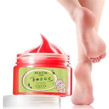 Moisturizing Milk Honey Foot Mask Foot Wax Pedicure Exfoliating Remove Dead Skin Anti-dry Scrub Whitening Cream Foot Care