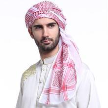 Xsyyfast 5 pcs Muslim Hijab Keffiyeh Islamic Headband Hat Cap Print Man Scarf Turban