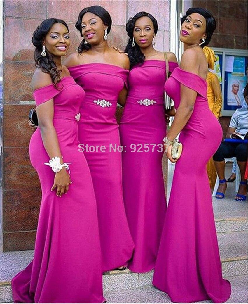 Vistoso Vestidos De Dama Violeta Africana Patrón - Colección del ...