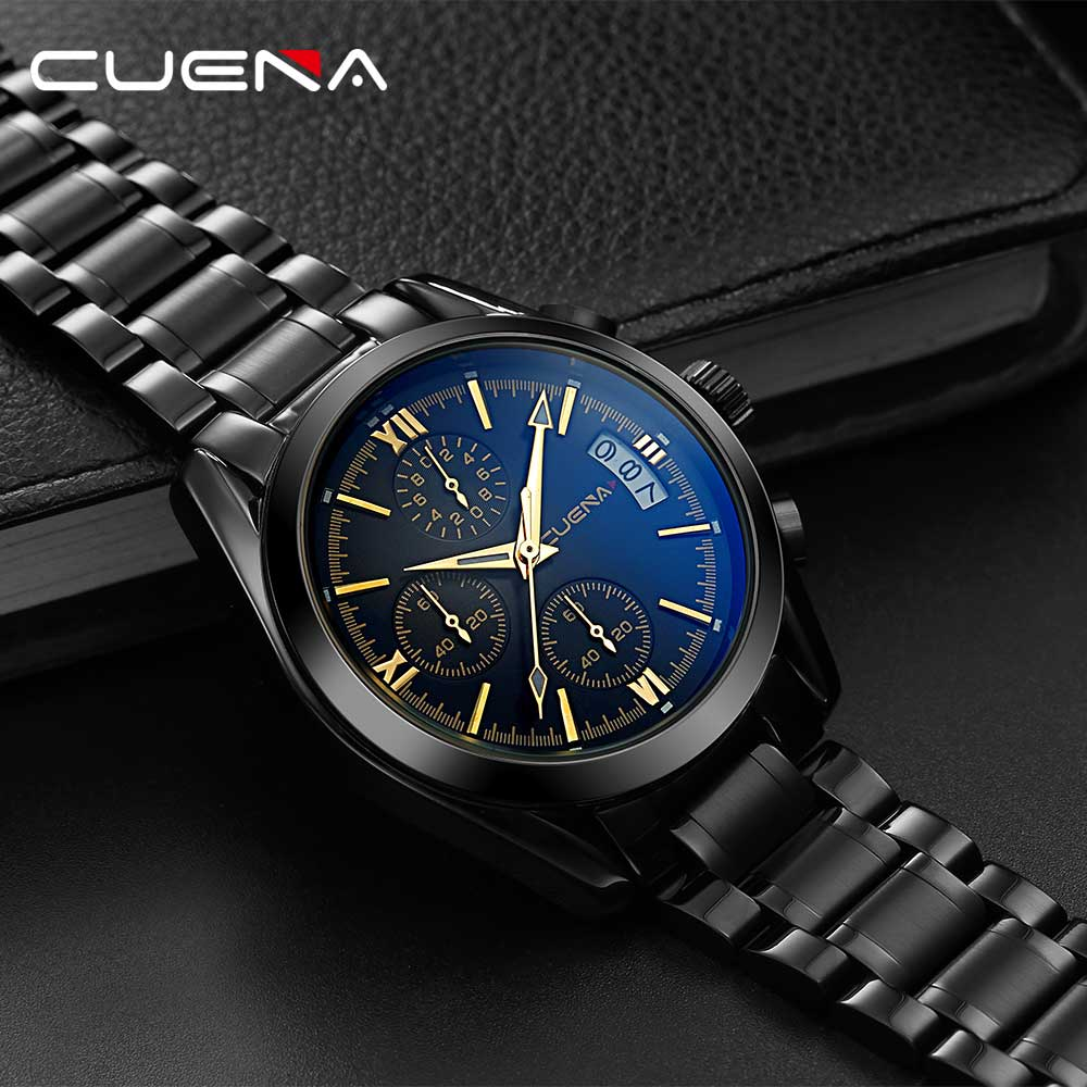 Top Brand Luxury Multifunction Men Sports Watches Army Military Wrist Watch for Men Clock Stainless Steel Strap Male Watch reloj forsining top luxury brand watch men mechanical automatic army military skeleton male wrist watches steel strap fashion clock