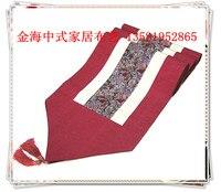 Silk brocade Chinese modern minimalist luxury fashion retro table flag flag tablecloths bed wedding gift of Foreign Affairs