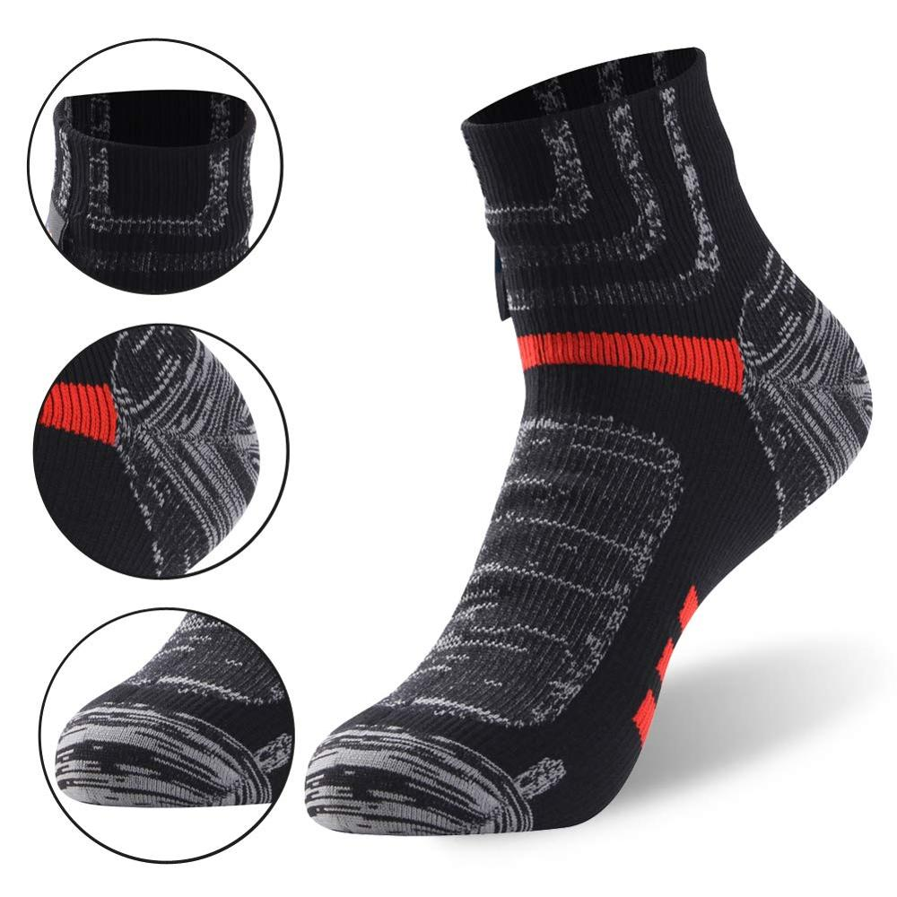 Image 5 - RANDY SUN Ankle Waterproof Sports Socks Breathable Windproof SGS Certified Outdoor Hiking Climbing Fishing Cycling Socks 1 PairCycling Socks   -