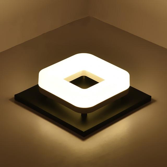 Modern LED ceiling lamp balconies Corridor lamps Surface mount Square / Circular lights Cloakroom light indoor lighting