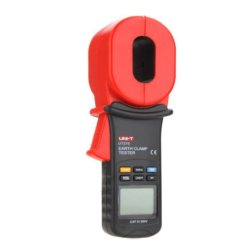 Professional UNI-T UT275  UT-275Auto Range Clamp Earth Ground Resistance Testers w/ 0~30A Leakage Current Test 0.01-1000ohm