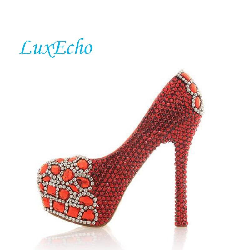 Haute Profonde forme Talons Chaussures Parti Minces Heel 12cm Diamant 10cm 14cm Rouge Ultra Couleur Peu Heel Femmes Heel Taille Grande Robe Bouche Formelle Plate Yxq6fqtI