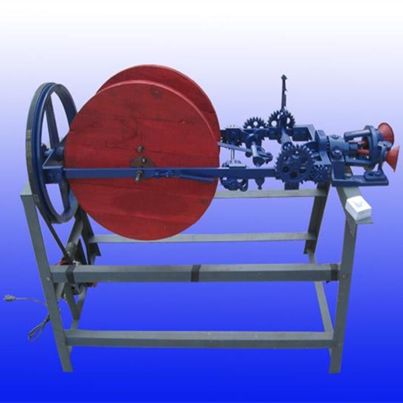 Semi automatic rice stalk straw rope making machine straw braiding machine price - 6