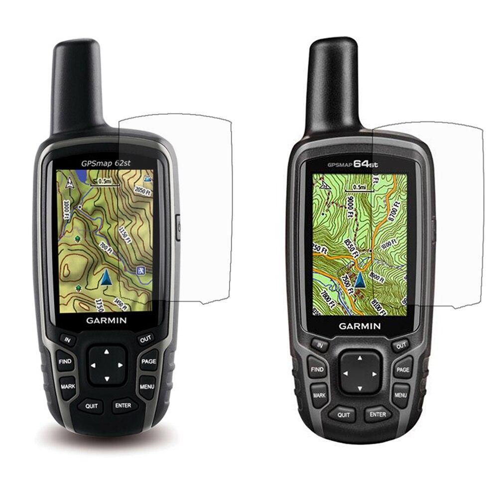 3x Clear LCD Screen Protector Pellicola Della Copertura Della Pelle per Garmin Astro 320 220 GPSMap 62 64 62st 64st 62 s 64 s