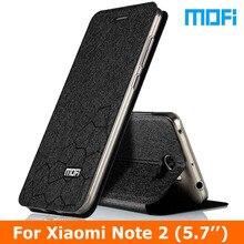 """Original Mofi brand mi note2 Case Flip Leather Case For Xiaomi Note 2 phone case Stand holder TPU soft cover xiaomi 5.7"""" case"""