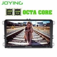 Радуясь 9 Octa Intel Core 4 GB + 32 GB головное устройство Android 8,1 автомобильный радиоприемник стерео для Volkswagen VW Passat B6 Гольф gps навигации игрока