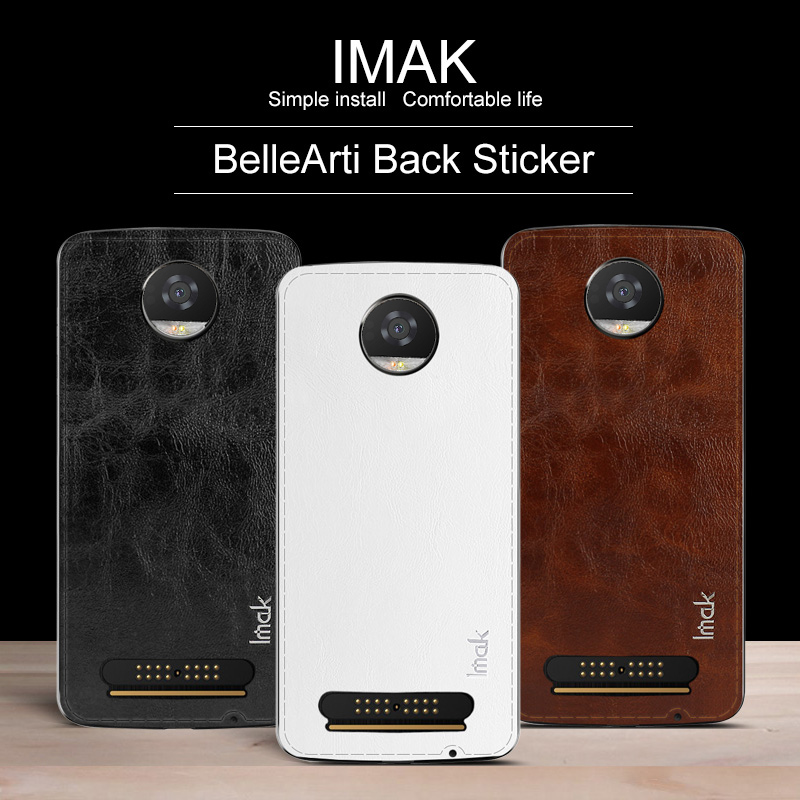 imak BelleArti Back Body Sticker Skin For Motorola Moto Z2 Play Decal Protective Cover