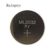 Cell-Button-Battery BIOS ML2032 Rechargeable Coin CMOS RTC 3V Rainpro 2pcs/Lot Back-Up