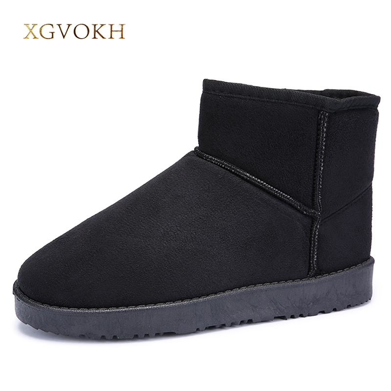 Unisex Fashion Winter Snow Boots Brand Ankle Rubber Boots Men Winter Shoes Cheap Men Winter Boots mycolen men boots 2017 winter cow leather snow boots british fashion men shoes men footwear thick bottom rubber ankle boot