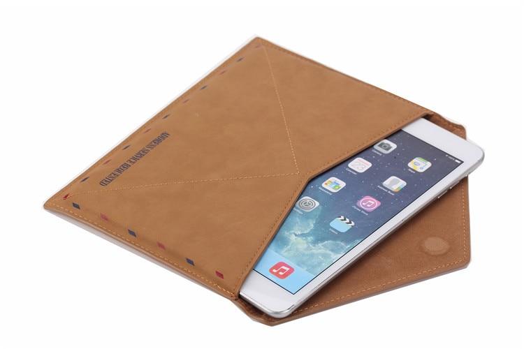 Nueva funda protectora de la manga del bolso del sobre de cuero retro - Accesorios para laptop - foto 5