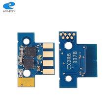 4K NA toner çip 80C1HK0 80C1HC0 80C1HM0 80C1HY0 için Lemark CX410 CX510 lazer yazıcı kartuşu
