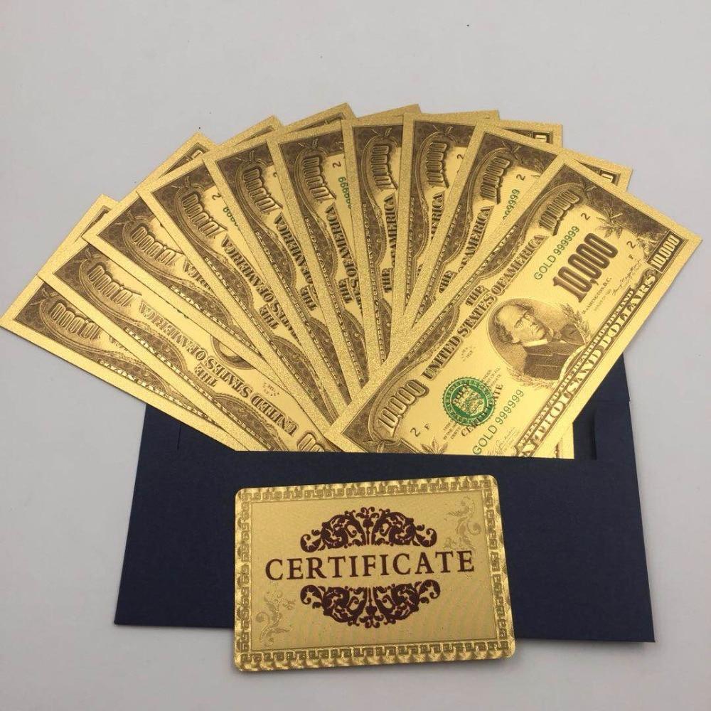 New 10000 Dollar Bill 10pcs/lot New U...