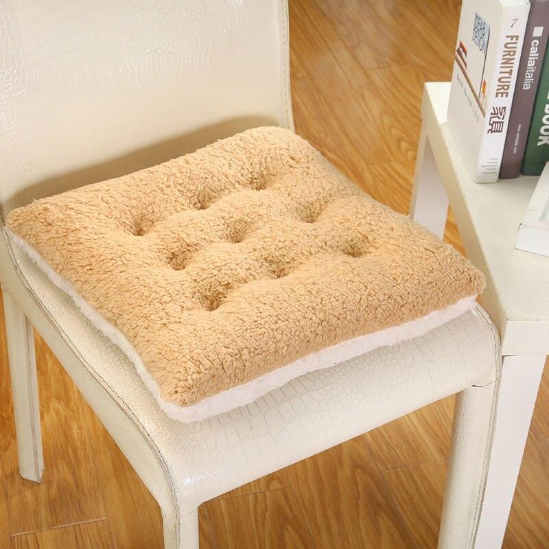 Aliexpress.com : Buy Camo Fleece Seat Cushion Square Chair Pad Cushion  Pearl Cotton Colorful Chair Cusion Cushions Home Decor Pillow 40X40cm  50x50cm From ...