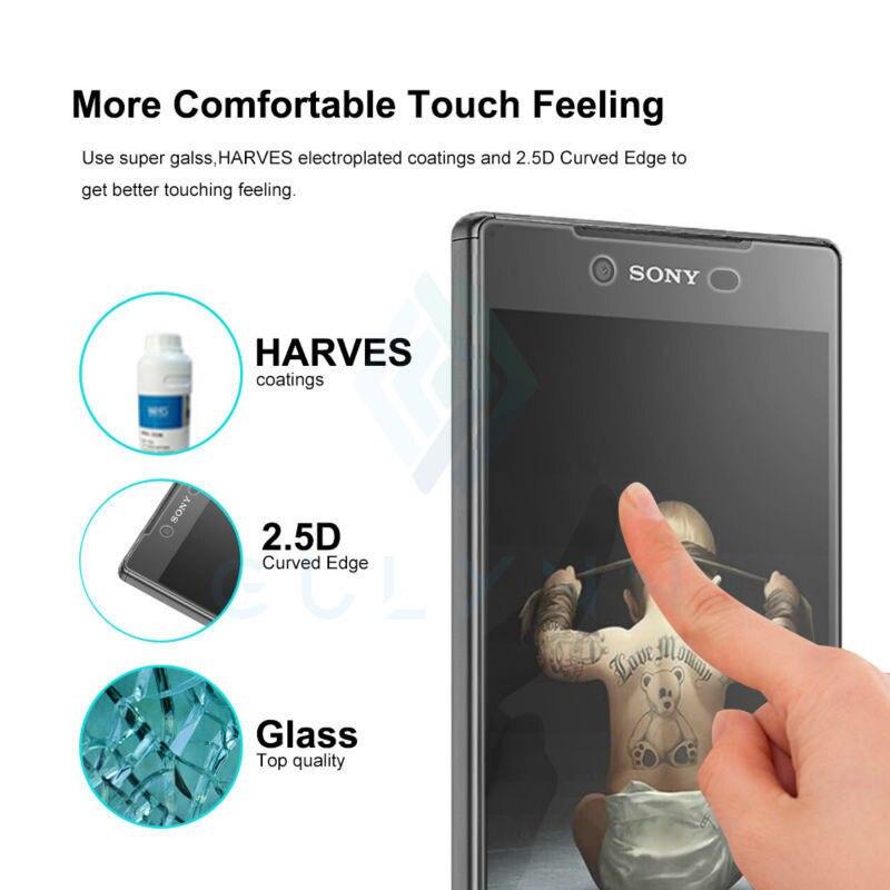 NOVO! 9H 2.5D Nano Revestido Temperado Film Vidro Para Sony xperia Z2 Z3 X compact XA XA1 L1 Z5 compacto z5 premium L1 Tela Ultra