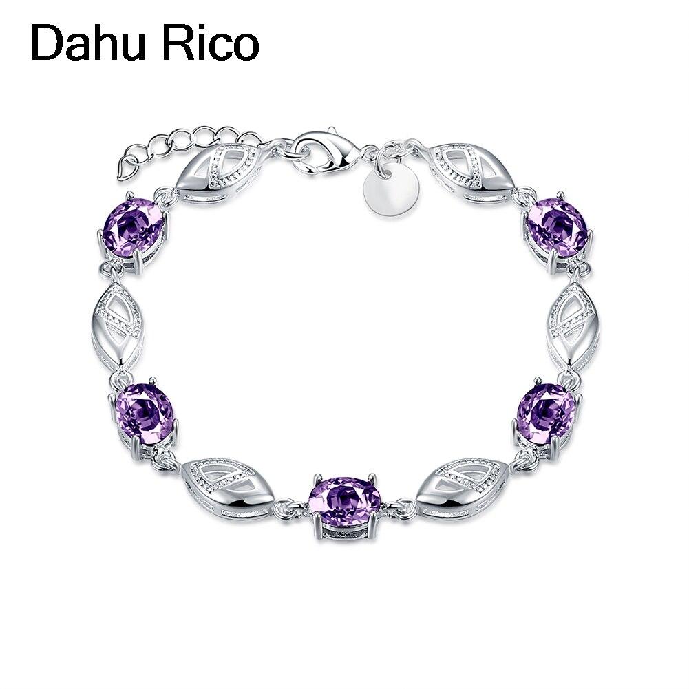 5 stone braslet bracelet bangles bangladesh turk purple glass plaque maxi de luxe bisuteria i love you to th Dahu Rico bracelets