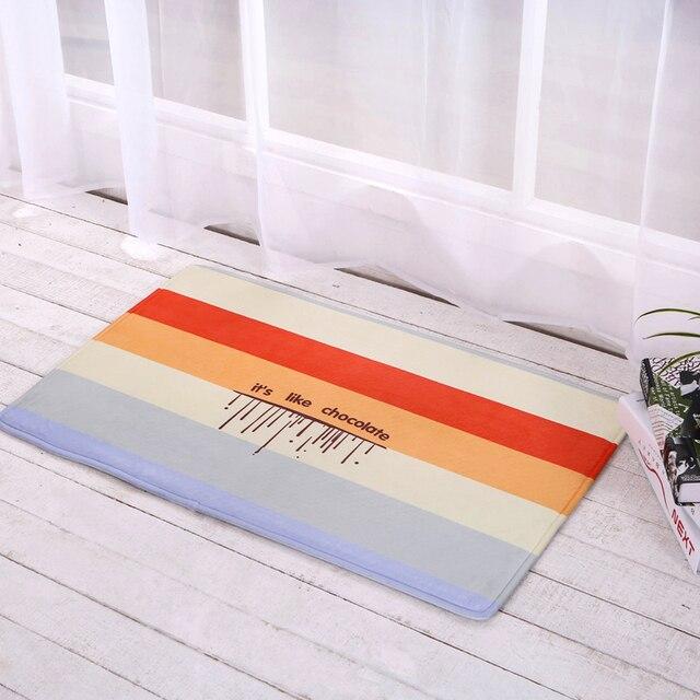 Teppich Eingang eingang fußmatten lustige gummi tür matte mode gedruckt