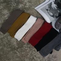 Bebek kız tayt çorap çocuk Çocuk sonbahar kış sıcak Örme çizgili pantolon bebek kız yeni moda kore stil giyim