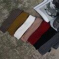 Crianças Tricô pit tira leggings meias crianças outono inverno calças quentes roupas de bebê novo estilo de moda coreano