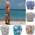 Bebê Swim Fraldas Reutilizáveis Ajustável Para O Bebê À Prova de Fugas Fraldas de Natação Do Bebê Swimwear 0-3 Anos Meninos Meninas