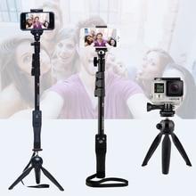 Камера Телефона Bluetooth Выдвижная Selfie Палка Yunteng 1288 Телескопический Монопод полюс или 228 Мини-Штатив Для Iphone 5 6 7 Samsung