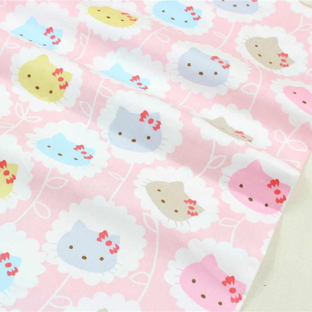 1582740, Ширина 1,5 метров 2 стиля выбрать ребенка супер как милый котенок хлопчатобумажной ткани, «сделай сам» ручной работы хлопчатобумажной ткани